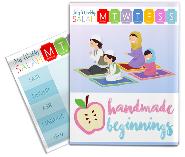 Salah Tracker by Handmade Beginnings included in the Islamic Homeschool Convention | Laylah's Classroom