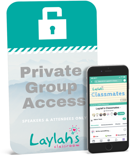 Private Group Access - Islamic Homeschool Convention | Laylah's Classroom