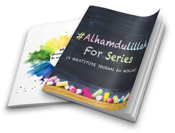 AlhamdulillahFOR Series Journal by AYEINA included in the Islamic Homeschool Convention Bundle | Laylah's Classroom