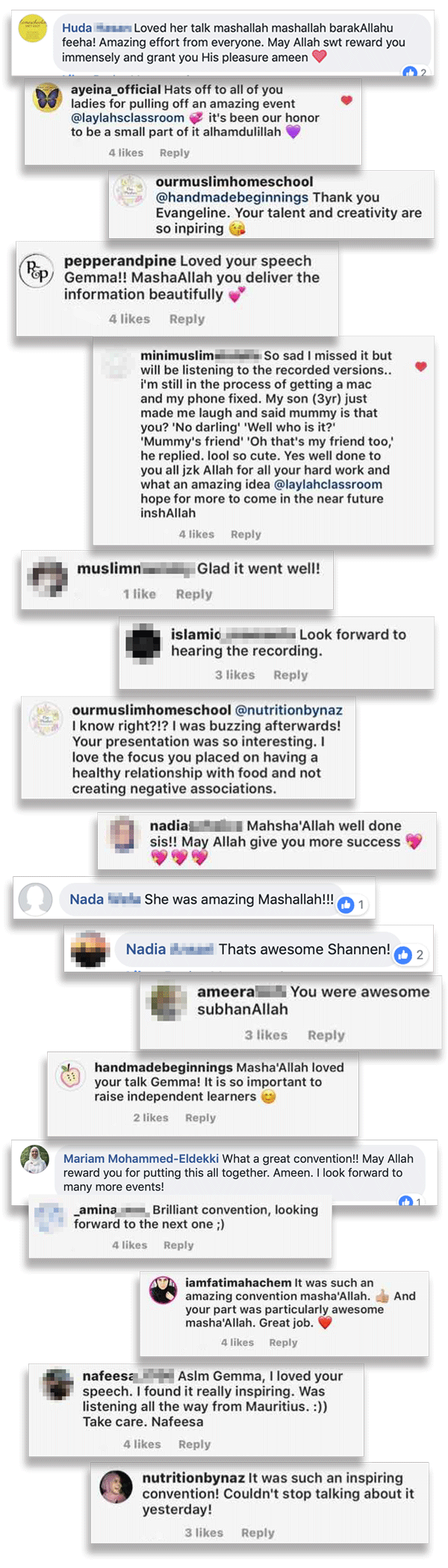 What people had to say about the Islamic Homeschool Convention | Laylah's Classroom