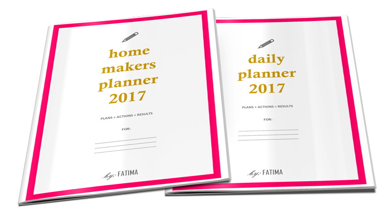 Daily Planner and Homemakers Planner from Organized By: Fatima included in the Islamic Homeschool Convention | Laylah's Classroom